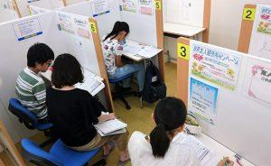 明光義塾春木教室の授業風景