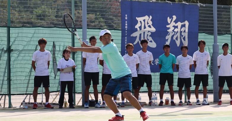 テニス部練習風景1