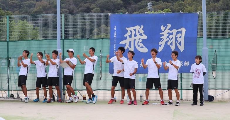 テニス部練習風景2