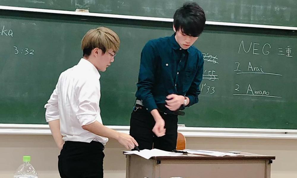 大阪大学E.S.S.Academic Debate