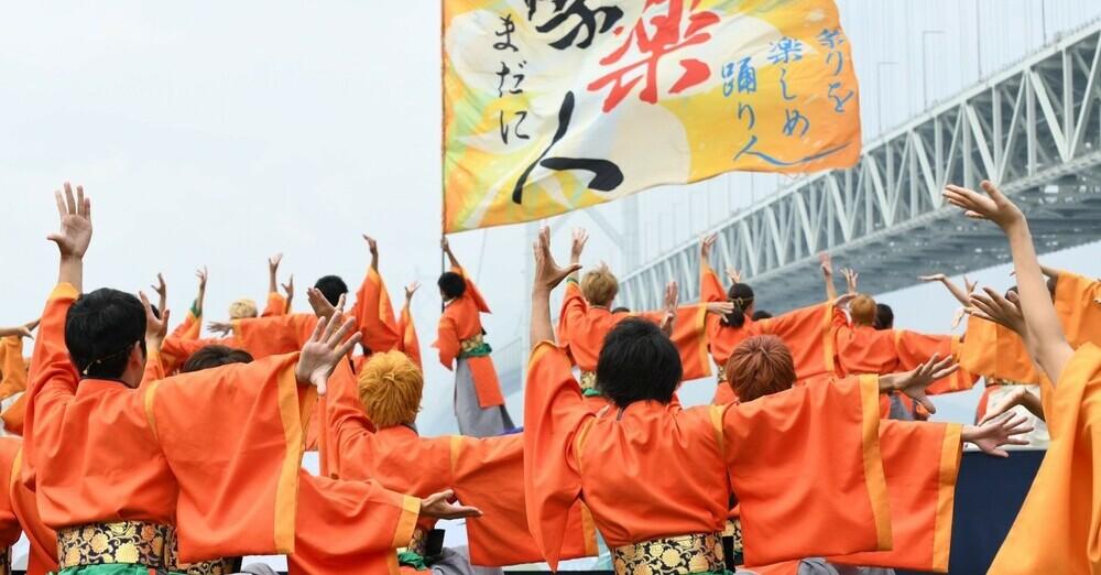 祭楽人演舞風景1